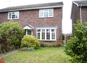 Thumbnail 2 bedroom semi-detached house for sale in The Larches, Wrentham, Beccles