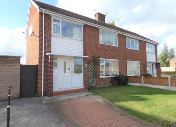 Thumbnail 3 bed semi-detached house for sale in Thompson Avenue, Harworth, Doncaster