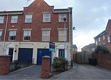 Thumbnail 3 bed end terrace house to rent in Lock Keepers Court, Hull