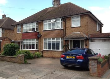 Thumbnail 3 bedroom semi-detached house to rent in Graham Gardens, Luton, Beds