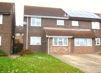 Thumbnail 3 bedroom semi-detached house to rent in The Close, Folkestone