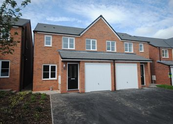 Thumbnail 3 bed semi-detached house to rent in Greenfields Drive, Newport