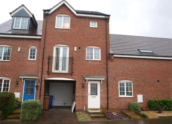 Thumbnail 3 bed town house for sale in Clough Drive, Burton-On-Trent, Staffordshire