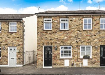 Thumbnail 2 bed semi-detached house for sale in Hurst Lane, East Molesey