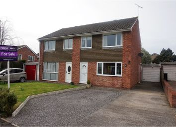 Thumbnail 3 bed semi-detached house for sale in Porlock Gardens, Nailsea