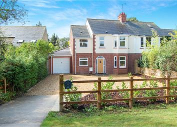 Thumbnail 4 bed semi-detached house for sale in Oakley Road, Clapham, Bedford