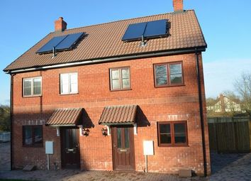 Thumbnail 2 bed semi-detached house for sale in Cullompton