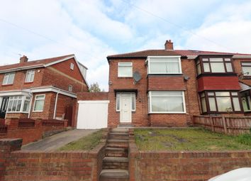 Thumbnail 3 bed detached house for sale in Clovelly Avenue, Newcastle Upon Tyne
