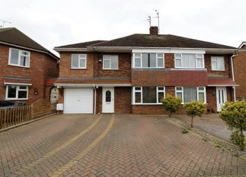 Thumbnail 4 bedroom semi-detached house for sale in Ashfields, Deeping St. James Road, Deeping Gate, Peterborough