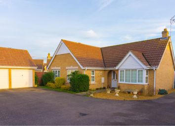 Thumbnail 3 bed detached bungalow for sale in Waggoners Way, Wimblington, March