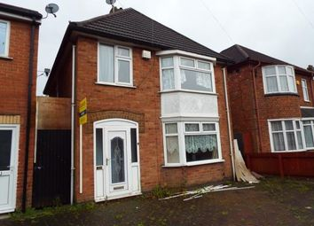 Thumbnail 3 bedroom detached house for sale in Beech Drive, Braunstone, Leicester, Leicestershire