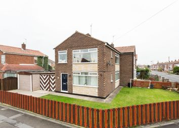 Thumbnail 3 bed semi-detached house for sale in Eastway, Huntington, York