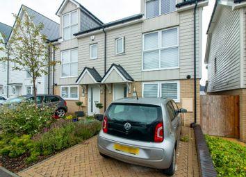 Thumbnail 3 bed semi-detached house for sale in Eton Walk, Folkestone