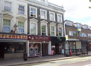 Thumbnail 1 bed flat to rent in High Street, Hoddesdon, Herts