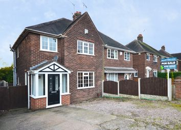 Thumbnail 3 bed semi-detached house for sale in Machin Crescent, Bradwell, Newcastle