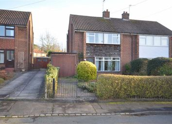 Thumbnail 3 bed semi-detached house for sale in St Johns Avenue, Oulton, Stone