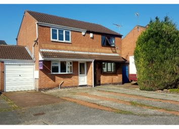 Thumbnail 2 bed semi-detached house for sale in Covert Close, Hucknall