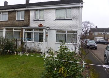 Thumbnail 3 bed end terrace house for sale in Erkenwald Close, Chertsey