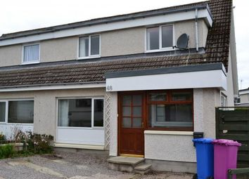 Thumbnail 3 bed semi-detached house for sale in 48 Forbeshill, Forres