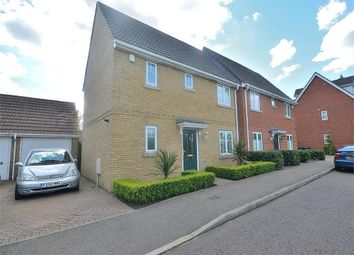 3 bed semi-detached house to rent in Chestnut View, Dunmow CM6