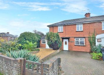 Thumbnail 4 bed semi-detached house for sale in Upper Brighton Road, Sompting, West Sussex