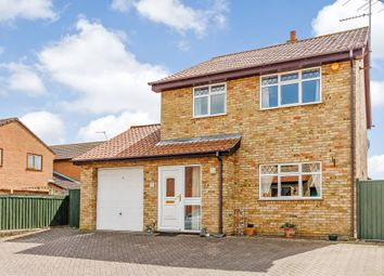 Thumbnail 3 bed detached house for sale in Coles Close, Bedford