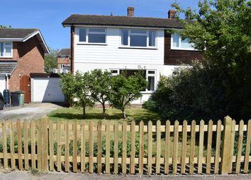 Thumbnail 3 bed semi-detached house to rent in Usborne Close, Staplehurst, Tonbridge