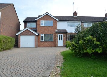 Thumbnail 4 bed semi-detached house to rent in Woosehill Lane, Wokingham