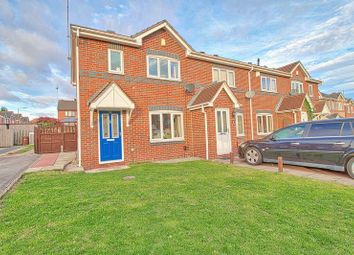 Thumbnail 3 bed terraced house for sale in Tennyson Way, Pontefract