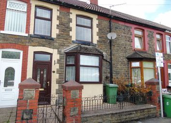 Thumbnail 4 bed terraced house for sale in Woodland Terrace, Maesycoed, Pontypridd