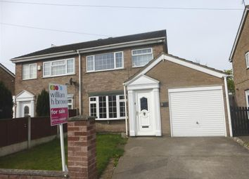 Thumbnail 3 bed semi-detached house for sale in Goodwood, Scunthorpe