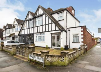 Headley Drive, Gants Hill, Ilford IG2. 4 bed semi-detached house for sale