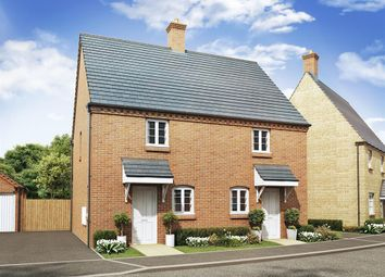 "Thumbnail 2 bed semi-detached house for sale in ""The Beverley"" at Ashton Road, Roade, Northampton"