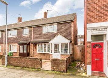 Thumbnail 2 bed end terrace house for sale in Southsea, Hampshire, United Kingdom