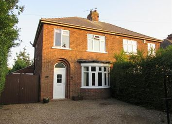 Thumbnail 3 bed semi-detached house for sale in Manor Road, Bottesford, Scunthorpe
