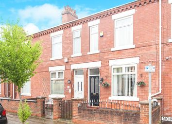 Thumbnail 3 bed terraced house for sale in Norway Street, Stretford, Manchester