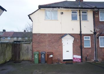 Thumbnail 2 bed end terrace house to rent in Bushgrove Road, Becontree, Dagenham