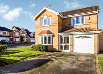 Thumbnail 4 bed detached house for sale in Wright Close, Whetstone, Leicester