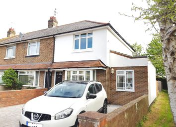Thumbnail 3 bed end terrace house for sale in St. Andrews Road, Worthing