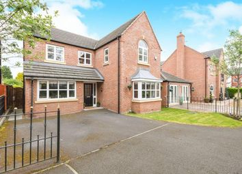 Thumbnail 4 bedroom detached house for sale in Campbell Close, Higher Runcorn, Runcorn, Cheshire