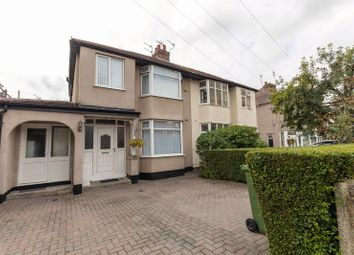 Thumbnail 4 bed semi-detached house for sale in Rosslyn Avenue, Maghull, Liverpool