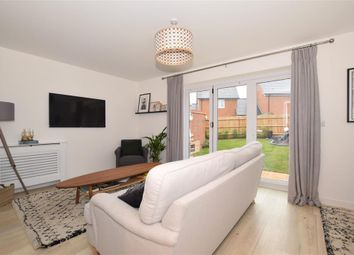 Thumbnail 3 bed semi-detached house for sale in Glenton Avenue, Kings Hill, West Malling, Kent