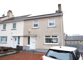 Thumbnail 2 bed end terrace house for sale in Durward Crescent, Paisley, Renfrewshire