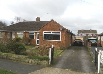 Thumbnail 3 bed semi-detached bungalow for sale in Hatherley Crescent, Portchester