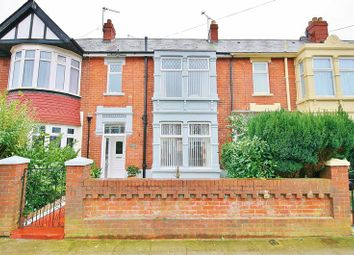 Thumbnail 3 bed terraced house for sale in Langstone Road, Portsmouth