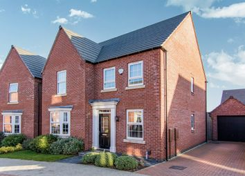 Thumbnail 4 bed detached house for sale in Lewes Avenue, Grantham