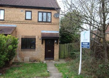 Thumbnail 2 bed property to rent in Rillington Gardens, Emerson Valley, Milton Keynes