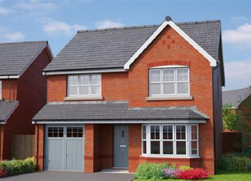 Thumbnail 4 bedroom detached house for sale in The Wentworth, Erddig Place, Wrexham