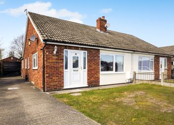 Thumbnail 3 bed semi-detached bungalow for sale in Foxdale Avenue, Thorpe Willoughby, Selby