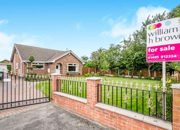 Thumbnail 3 bed detached bungalow for sale in Quantock Close, Thorne, Doncaster